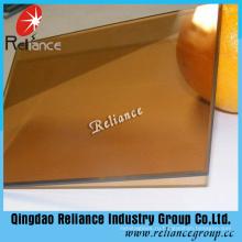 5.5 мм Золотой бронзы Отражательное стекло с сертификатом CE
