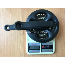 Steel Chainwheel and Crank for Bicycle 1120g