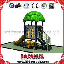Playground plástico padrão das crianças do Ce para a venda