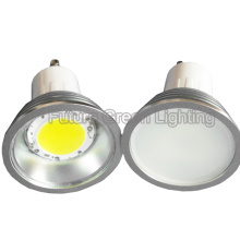 Luz de bulbo del LED GU10 / MR16 / E27 / E14 5W COB