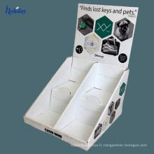 Présentoir coloré de carton d'affichage de montre de promotion pour des montres