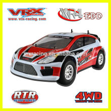 1/10 rc model electric powered rally car toy