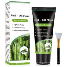 Deep Facial Cleansing Black Charcoal Face Mask Blackhead Mask Peel off Mask