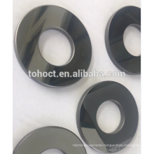 Mirror polish surface SSIC /RBSIC ceramic sleeve bushing seal ring