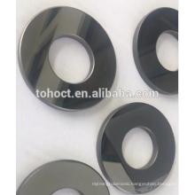Mirror polish surface SSIC /RBSIC ceramic sleeve bushing seal ring