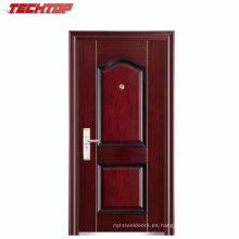 TPS-040A Puertas batientes de una sola hoja con diseño de puerta de acero inoxidable
