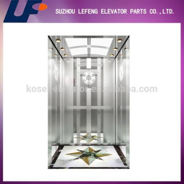 Control system for passenger elevator, AC Monarch drive type complete elevator