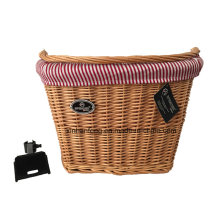 2015 Hot - Sale Willow Bicycle Basket for Bike (HBG-150)