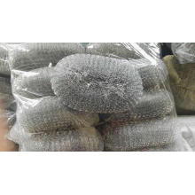 Widely used low price plastic wire mesh scourer