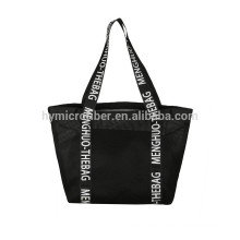 Personalized factory cheap women mesh bag with inner bag
