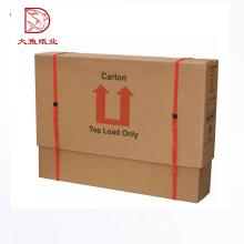 Caja directa del cartón de la exhibición de la fruta del tamaño personalizado directo de la fábrica