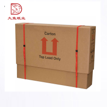 Factory direct customized size square fruit display carton box