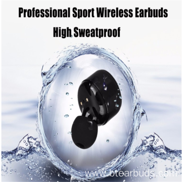 Red Wireless Headphones Headsets