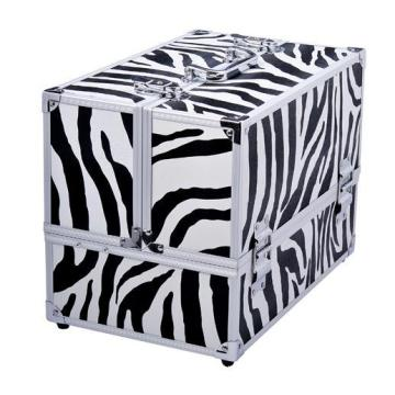 Aluminum cosmetic Storage Box, Professional Beauty Case
