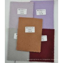 Vino de la calidad pesada tela de cachemira doble cara 700 g / m stock