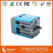 Лучшие прямые продажи на заводе Превосходное качество Горячий дизайн Конкурентоспособная цена Универсальный адаптер для путешествий с портом USB