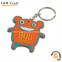 Adorável e bonito personalizar cabides de chave de PVC Ym1116
