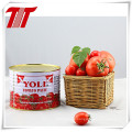 Pasta de tomate enlatada orgánica saludable 800g con la marca Yoli