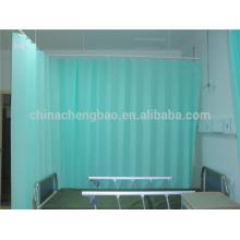 Notfall-Raum verwendet Krankenhaus Vorhänge Falten Vorhänge und Vorhänge