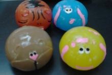 動物スプラット ボール各種のスタイル