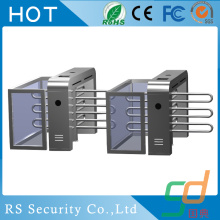 Swipe Card Face Recognition Half Height Turnstile