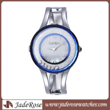 Promoción impermeable y pulsera de moda reloj de aleación