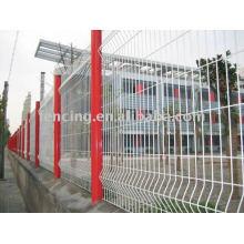 clôture soudée de treillis métallique (usine) produits