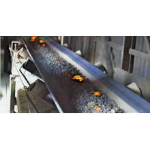 Correa transportadora resistente al calor para planta de cemento