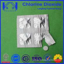 0,5g Blister Verpackung von Chlordioxid Tablette für Trinkwasser