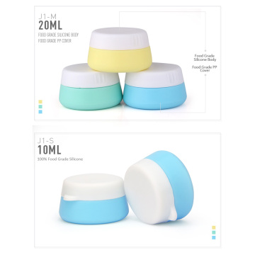 I-20ml ye-Acrylic Cream Cosmetic Jar