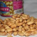 Dose gebratene Blanchierte Erdnuss mit Salz
