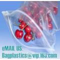 100% virgin LDPE plastic slider zip lock bag with customer printing, zipper bags, sliders