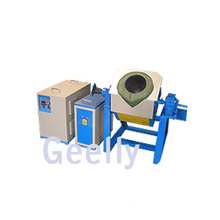 Small Induction Melting Furnace Melting Copper, Gold, Silver or Bronze 0.5-5 Kgs