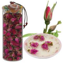 Factory Price Dried Pink Rose Buds Tea Pink Rose Tea Organic Rose Bud Tea