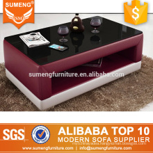 SUMENG wholesale modern hotel furniture design stainless steel coffee table