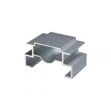 Aluminium extrusion profile on stock