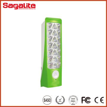 Alta calidad ABS plástico cuerpo portátil LED recargable luz al aire libre