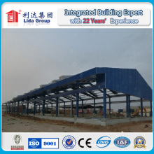 Long Span Prefabricated Structural Steel Warehouse Building
