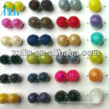 high quality DIY colourful ABS bayberry beads resin round beads
