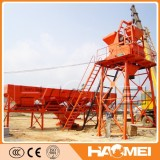 HZS25 ready fixed concrete mixing plant