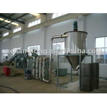 PP/PE film recycling  and granulating line