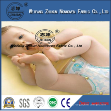 Super Soft Absorbent SMS SSS PP Nonwoven Fabric for Baby Diapers