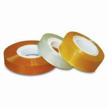 Stationery Tapes, Transparent, 10 Tapes + 10 Dispenser/Display Box, Dimension of 18 x 33mm