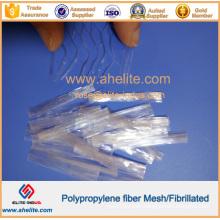 PP Mesh/Fibrillated/Monofilament/Twisted /Wave Fibre Fiber