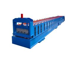 Tejas modificadas para requisitos particulares del decking del piso de acero del metal de la longitud que forman la máquina