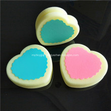 Hair Remove Sponge Hosamtel Peach Heart Teardrop Shape
