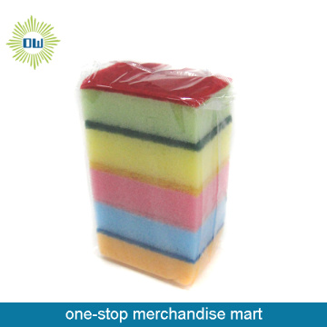 2 PC Kitchen Colorful Cleaning Sponge