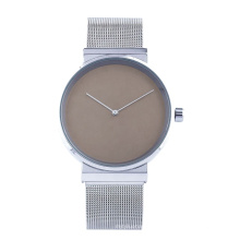 Customized OEM Watch Quartz Stainless Steel Mesh Casual Pair Watch for Couple