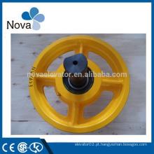 Roda de ferro fundido barata com rolamentos HRB