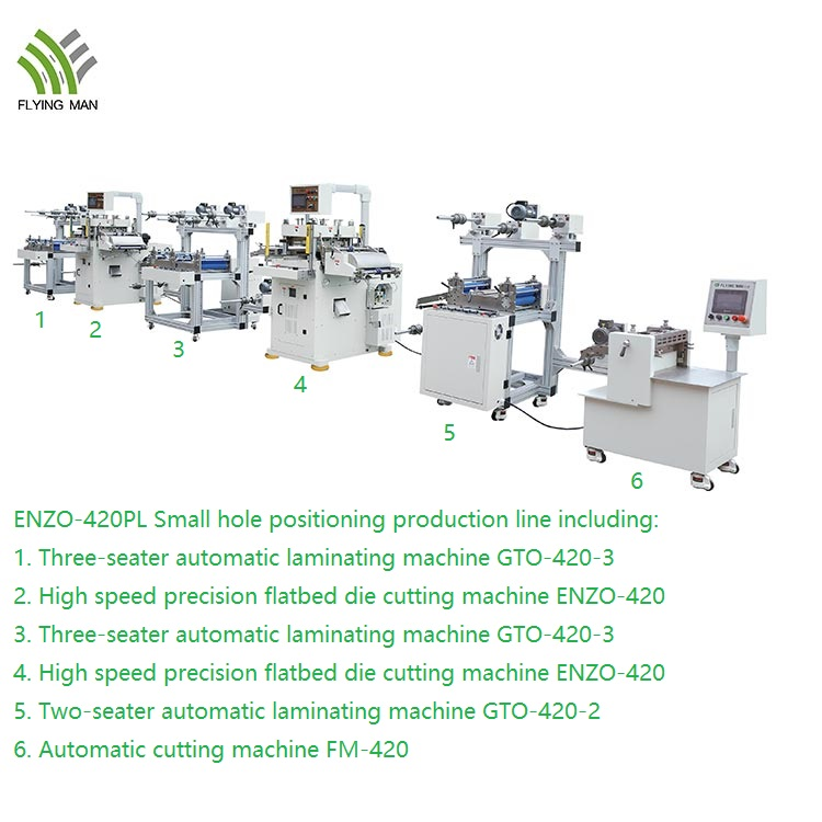 Enzo 420pl High Precise Die Cutting Production Line 1